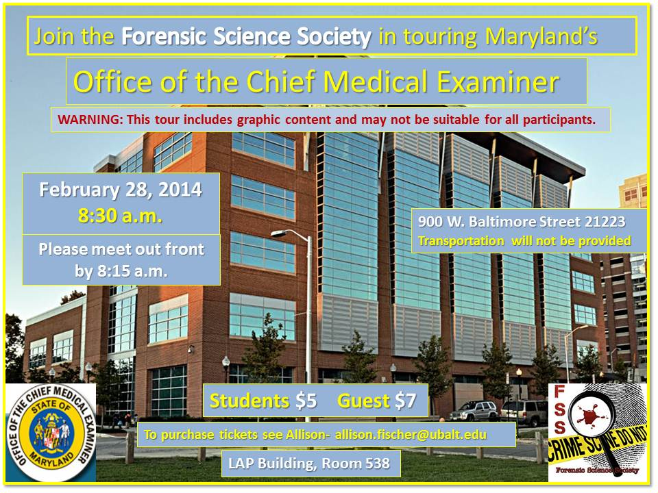 FSS Medical Examiner Tour